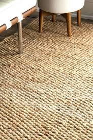 6x9 jute rug fashionable coffee natural fiber area rugs bleached chenille wool