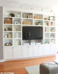 425 best built ins bookcases images on inspiration of diy built in shelves