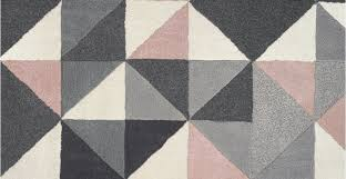 henrik hand tufted wool small rug 120 x 180cm pink and grey made com throughout rugs plan 11