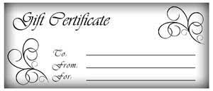 Make Your Own Gift Certificate Free Printable Make Gift Certificates With Printable Homemade Gift
