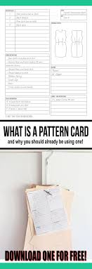 What Is A Pattern Delectable What Is A Pattern Card And Why You Should Already Be Using One