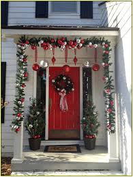 christmas front door decorationsFront Door Christmas Decorations  Home Design Ideas