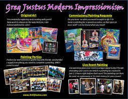 greg justus modern impressionism home page watch my tv interview tom cole from it matters to toledo video below