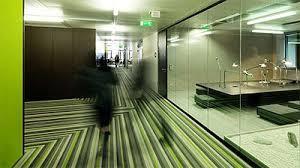 green office interior. Green Office In Viena - Microsoft Corridor Interior R
