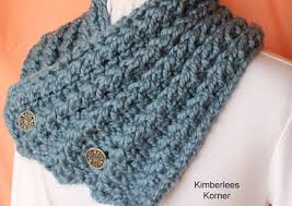Knitted Scarf Patterns Using Bulky Yarn Simple Knitting Pattern Button Up Knit Cowl Design Instructions For A