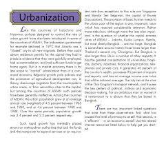 essay urbanization essay