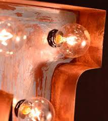 Nashville Sign Decor Custom Metal Letter Marquee Sign Home Decor Lighting Top 93