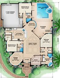 Small Picture Florida Mediterranean House Plan 60512 Mediterranean house plans