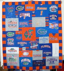 Florida Gators Too Cool T-Shirt Quilt   Too Cool T-shirt Quilts ... & Florida Gators Too Cool T-Shirt Quilt Adamdwight.com
