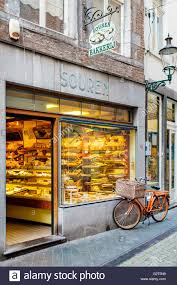Storefront Of Souren Bakkerij Bakery Maastricht Limburg Stock