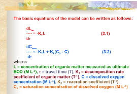 the basic equations of the model can be written as follows
