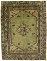 sage green kazak turkish persian oriental area rug carpet 7x9 6 7x8 7
