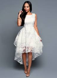 Little White Dresses For Womens Oasap Fashion