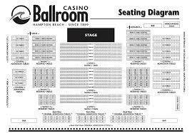 Casino Ballroom Seating Chart Hampton Beach Nh Lewis Black