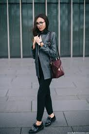 Image Yhome Beatrice Gutu Wearing Mango Grey Double Breasted Blazer With Zara Black Tailored Trousers And Fringe Blucher The Fashion Cuisine Grey Double Breasted Blazer Office Wear The Fashion Cuisine