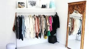 no closet in bedroom 3 no closet solutions for your bedroom minimum bedroom closet size