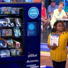 Vending Machine Books Impressive Free Book Vending Machine Offers Books To Kids Who May Otherwise Not