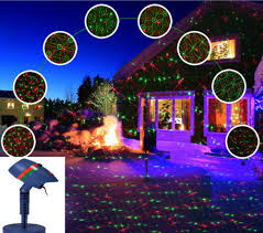 Christmas Outdoor Laser Projector Light Star Garden Decoration Led