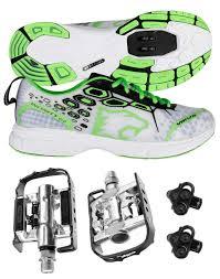 Venzo Mountain Bike Bicycle Cycling Shimano Spd Shoes Pedals