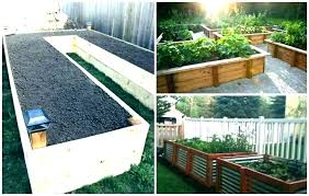 raised garden beds on a slope build raised bed vegetable garden raised garden bed plans above