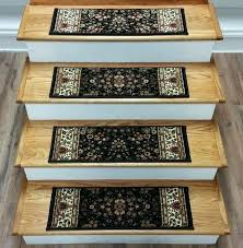 carpeted stair treads s non slip carpet home depot rug rona