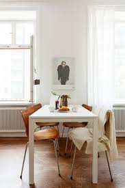 ... Dining Tables, Appealing White Rectangle Rustic Wooden Ikea Dining Table  Stained Design: top ikea ...