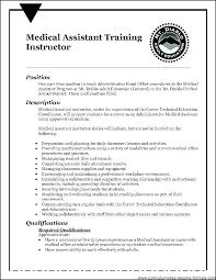 Medical Assistant Objective Statement Samples Of Medical Assistant Resume Blaisewashere Com
