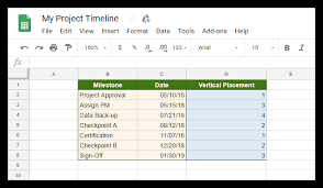 How To Make A Chart On Google Docs How To Make A Timeline In Google Docs Free Template