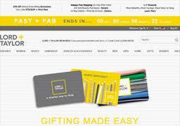 Lord & Taylor | Gift Card Balance Check | Balance Enquiry, Links ...