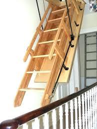 loft ladder wooden plans designs ladders abru timber homebase pine wood attic loft ladder