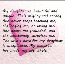 My Daughter Quotes Love Quotes For Daughters Magnificent Best Love Inspiration How I Love My Daughter Quotes