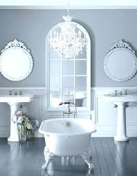 small chandeliers for bathroom glass bathroom chandeliers in