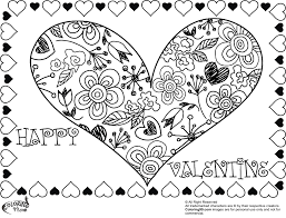 Small Picture Valentine Heart Coloring Pages Minister Coloring