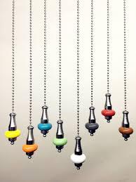 light pull cord porcelain chrome chain