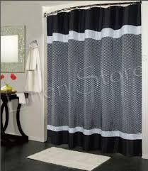 full size of garage black shower curtain fancy black shower curtain 21 red and white