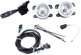 Mopar Fog Lights Jeep Wrangler Mopar 82211870 Production Fog Light Kit For 07 10 Jeep Wrangler Jk