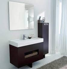 White Wood Bathroom Vanity Modern Floating Dark Wood Bathroom Vanity And White Kitchen Sink 2