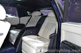 rolls royce phantom 2015 white. 2015 rolls royce phantom limelight collection rear seats at the auto shanghai white