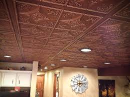 cathedral antique nickel faux tin ceiling tiles