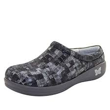Alegria Size Chart Alegria Kayla Professional Womens Clog Shoes Block Party Night 37 Regular Eu