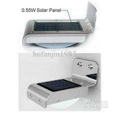 Discount Pir Solar Powered Wall Lamp 16 LedLeds Lights Wall Light Solar Led Wall Lights