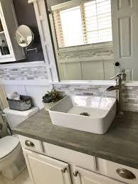 Image Bathroom Decor Pinterest Diy Bathroom Vanity Builders Grade Upgrade Brandnewell