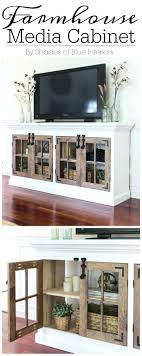 White Tv Cabinets With Doors For Flat Screens Stand Cabinet Tall ...