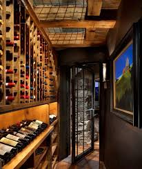 wine room lighting. View In Gallery Interesting Wine Cellar With Skylights And Wall Art Room Lighting