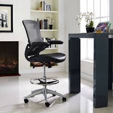 word 39office desks workstations39and. amazoncom modway attainment drafting chair in black reception desk tall office for adjustable standing desks flipup arm table word 39office workstations39and
