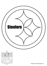 Small Picture Pittsburgh Steelers Coloring Page Coloring Home