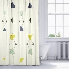 modern shower curtain ideas.  Shower Creative Decoration Mid Century Modern Shower Curtain Innovation Ideas Part  22 Triangle To A