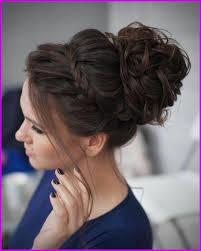 Coiffure Sur Cheveux Brun Au Carre Pour Mariage 236444