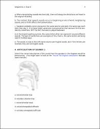 Linguistics 1 Quiz 4 3 A When Manipulating Sounds Electronically