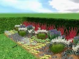 Small Picture Free Garden Plans Low Maintenance Garden Design Border Plan YouTube